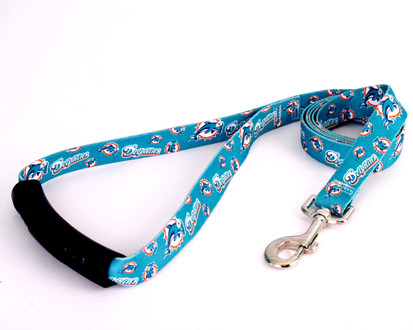 Miami Dolphins EZ-Grip Dog Leash
