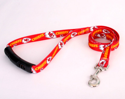 Kansas City Chiefs EZ-Grip Dog Leash