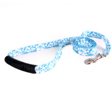 Island Floral Blue EZ-Grip Dog Leash