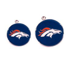 Denver Broncos NFL Dog Tags With Custom Engraving