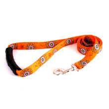 Folk Flowers EZ-Grip Dog Leash
