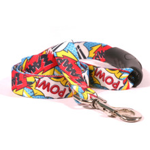 Comic Print EZ-Grip Dog Leash