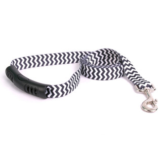 Chevron - Licorice EZ-Grip Dog Leash