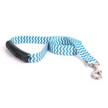 Chevron - Blueberry EZ-Grip Dog Leash