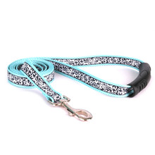 Chantilly Teal EZ-Grip Dog Leash