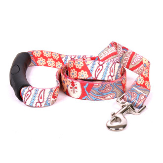 Bohemian Patchwork EZ-Grip Dog Leash