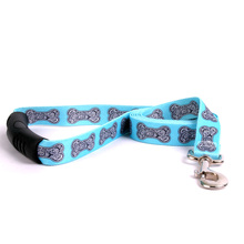 Bella Bone Blue EZ-Grip Dog Leash