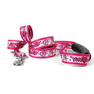 Be My Valentine EZ-Grip Dog Leash