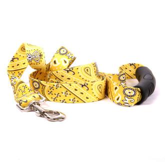 Bandana Yellow EZ-Grip Dog Leash