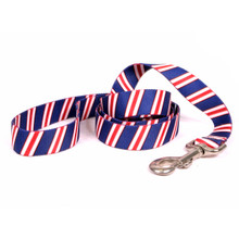 Team Spirit Red, White and Navy Blue Dog Leash