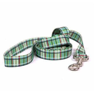 Tartan Green Dog Leash