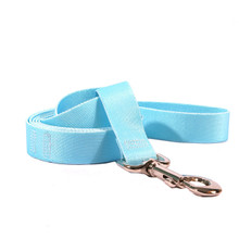 Solid Light Blue Dog Leash