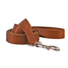 Solid Brown Dog Leash