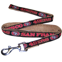 San Francisco 49ers Dog Leash