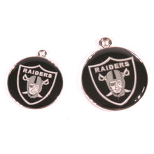 Oakland Raiders NFL Dog Tags With Custom Engraving