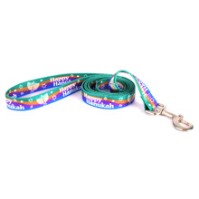 Happy Hanukah Dog Leash