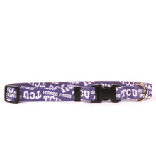 TCU Horned Frogs Dog Collar