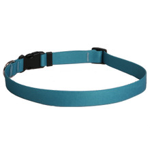 Solid Teal Dog Collar