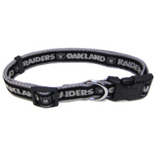 Oakland Raiders Dog Collar