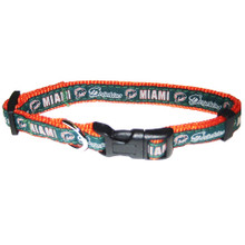 Miami Dolphins Dog Collar
