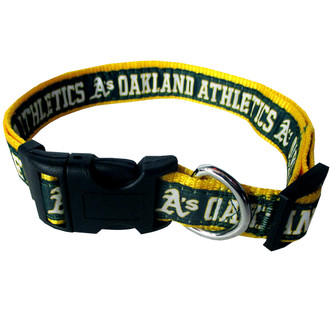 Oakland Athletics Dog COLLAR