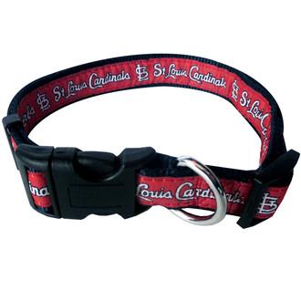 St. Louis Cardinals Dog COLLAR