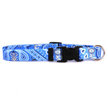 Bandana Blue Dog Collar
