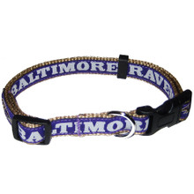Baltimore Ravens Dog Collar