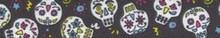 Sugar Skulls Black Waist Walker