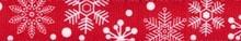 Red Snowflakes Waist Walker