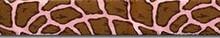 Giraffe Pink Waist Walker