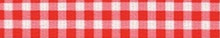Gingham Red Waist Walker