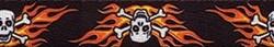 Flaming Skulls Waist Walker