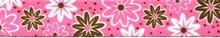 Daisy Chain Pink Waist Walker