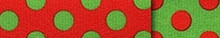 Christmas Polka Dot Waist Walker