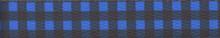Buffalo Plaid Blue Waist Walker