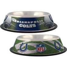 Indianapolis Colts Stainless Steel NFL Dog Bowl