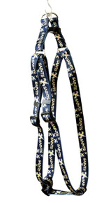 New Orleans Saints Step-In Dog Harness