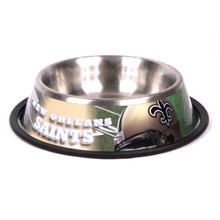New Orleans Saints Stainless Steel NFL Dog Bowl