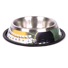 Pittsburgh Steelers Stainless Steel NFL Dog Bowl