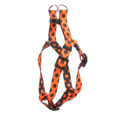 Halloween Polka Dot Step-In Dog Harness