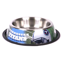 Tennessee Titans Stainless Steel NFL Dog Bowl