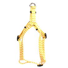 Chevron - Lemon Step-In Dog Harness