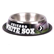 Chicago White Sox Stainless Steel MLB Dog Bowl