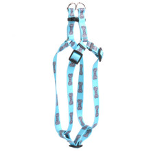 Bella Bone Blue Step-In Dog Harness