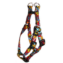 Abstract Step-In Dog Harness