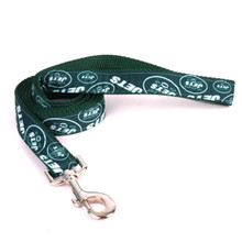 New York Jets Premium Grosgrain Dog Leash