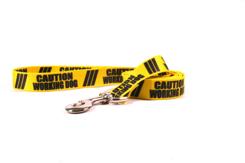 Caution Working Dog Dog Leash