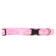 New England Patriots PINK Dog Collar