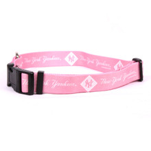 New York Yankees PINK Dog COLLAR